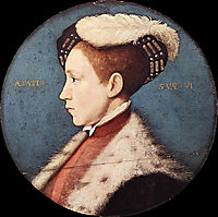 Edward, Prince of Wales, 1543, holbein