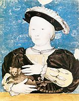 Edward, Prince of Wales, with Monkey, c.1541, holbein