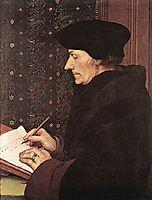 Erasmus, 1523, holbein