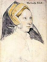 Lady Elyot, 1532-1533, holbein