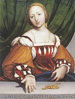Lais Corinthiaca, 1526, holbein