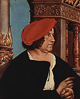Mayor Jakob Meyer zum Hasen, 1516, holbein