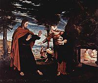 Noli me tangere, c.1524, holbein