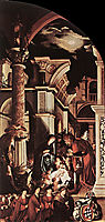 The Oberried Altarpiece, right wing, 1521-1522, holbein