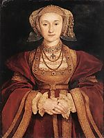 Portrait of Anne of Cleves, 1539, holbein