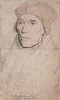 Portrait of Bishop John Fisher, holbein