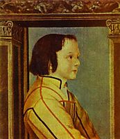 Portrait of a Boy with Chestnut Hair, holbein