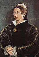 Portrait of Catarina Howard, c.1541, holbein