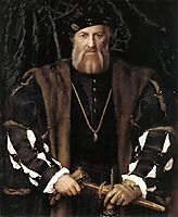 Portrait of Charles de Solier, Lord of Morette, 1534-1535, holbein