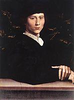 Portrait of Derich Born, 1533, holbein