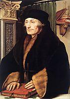 Portrait of Erasmus of Rotterdam, 1523, holbein