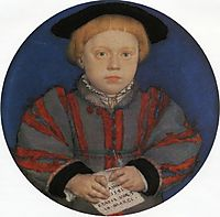 Portrait of Henry Brandon, holbein