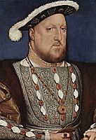 Portrait of Henry VIII, King of England, c.1535, holbein