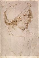 Portrait of Jakob Meyer zum Hasen, 1516, holbein