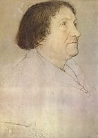 Portrait of Jakob Meyer zum Hasen, Mayor of Basel, 1528, holbein