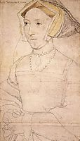 Portrait of Jane Seymour, 1536-1537, holbein