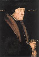 Portrait of John Chambers, 1543, holbein