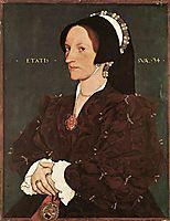 Portrait of Margaret Wyatt, Lady Lee, 1540, holbein