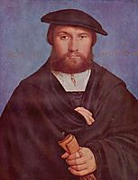 Portrait of a Member of the Wedigh Family, 1533, holbein