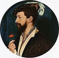 Portrait of Simon George of Quocote, c.1536, holbein