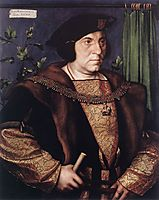Portrait of Sir Henry Guildford, 1527, holbein