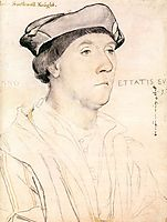 Portrait of Sir Richard Southwell, 1537, holbein
