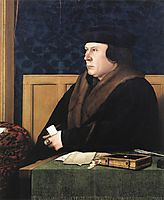 Portrait of Thomas Cromwell, 1533, holbein