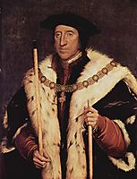 Portrait of Thomas Howard, 1539, holbein