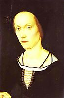 Portrait of a Woman, c.1524, holbein