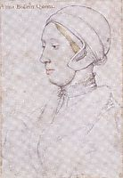Portrait of a Woman, holbein