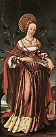Saint Ursula, 1523, holbein