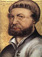 Self-Portrait, 1542-1543, holbein