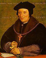 Sir Brian Tuke, 1527, holbein