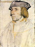 Sir Thomas Eliot, c.1532, holbein