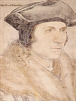 Sir Thomas More, 1527, holbein