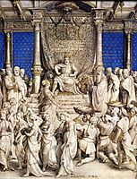 Solomon and the Queen of Sheba, c.1535, holbein
