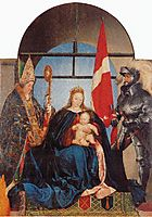 The Solothurn Madonna, 1522, holbein