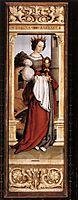 St. Barbara, 1516, holbein