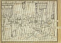 Study for the Family Portrait of Thomas More, holbein