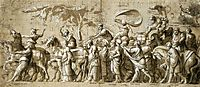 Triumph of Wealth, c.1533, holbein