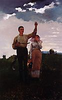 Answering the Horn, 1876, homer