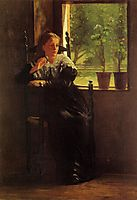 At the Window , 1872, homer