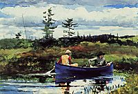 The Blue Boat, 1892, homer