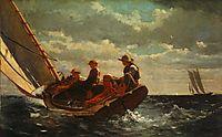 Breezing Up (A Fair Wind) , 1876, homer
