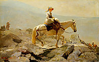 The Bridal Path, White Mountains, 1868, homer