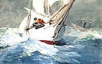 Diamond shoal, 1905, homer