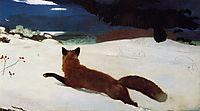 Fox Hunt, 1893, homer