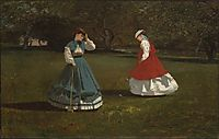 Game of Croquet, homer