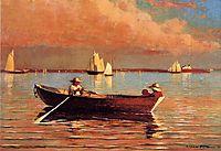 Gloucester Harbor, 1873, homer