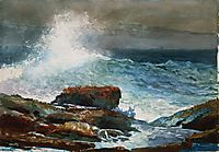 Incoming Tide, Scarboro Maine, 1883, homer